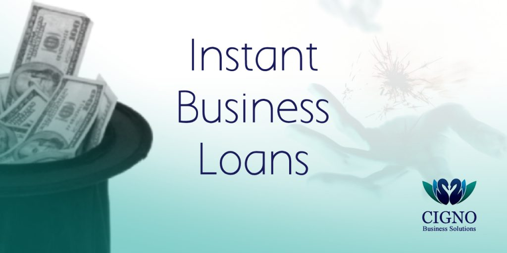 Instant business loans - Cigno Business Solutions